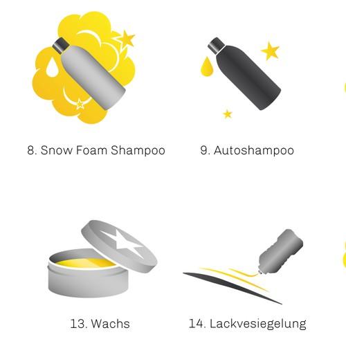 45 Autocosmetics Icons