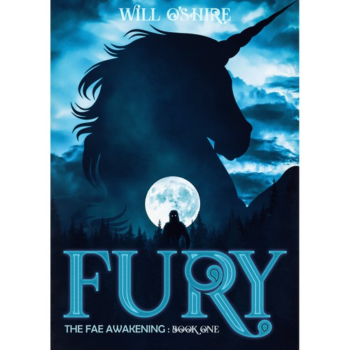 Fury - Urban Fantasy & Mystery Book Cover