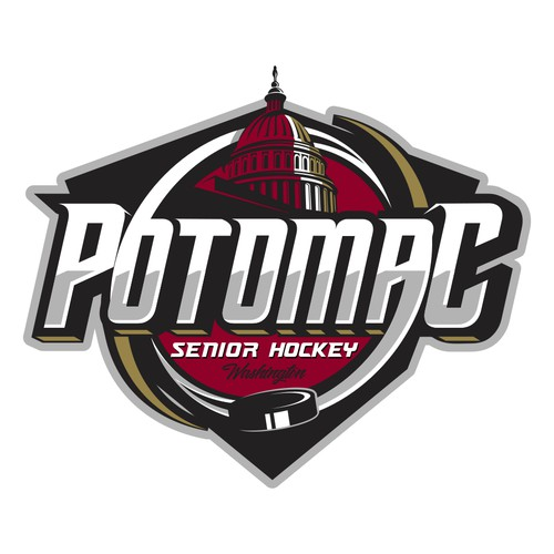Logo for hockey team