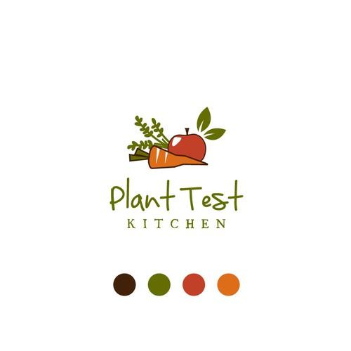 Vegan, plant-based recipes logo