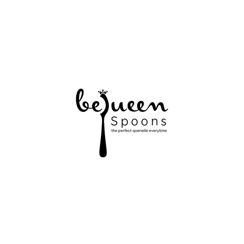 logo for a quenelle spoon