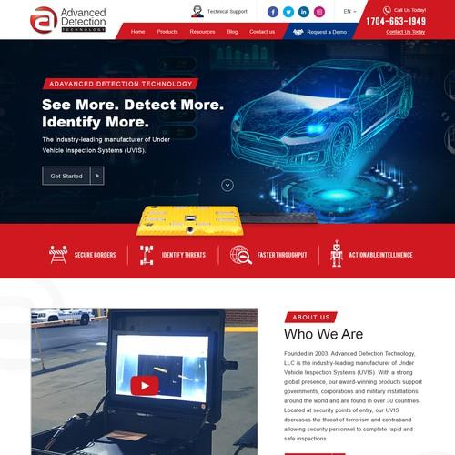 Help Advanced Detection Technology, LLC redesign their website!
