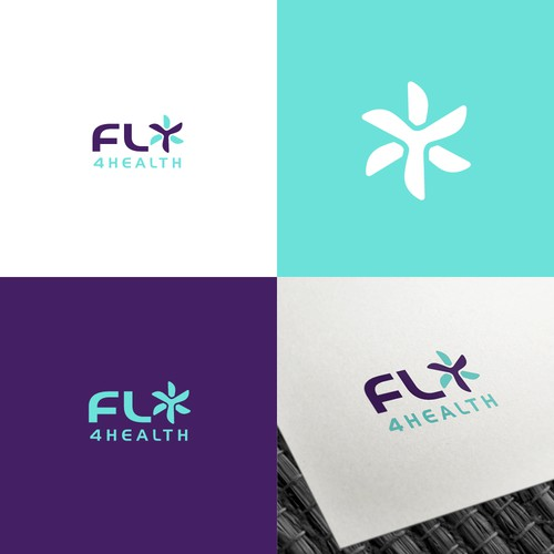 Clever Logo for Healthcare Drone Service