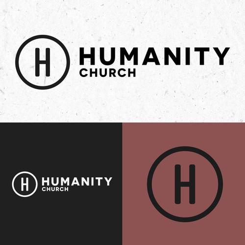 Modern logo for a modern church in California