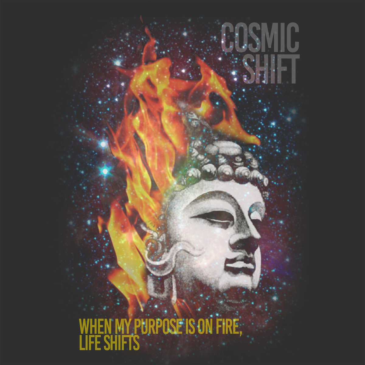 Cosmic Shift t shirt design