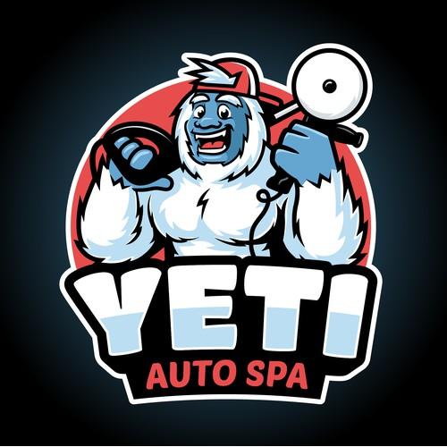 Yeti Auto Spa logo