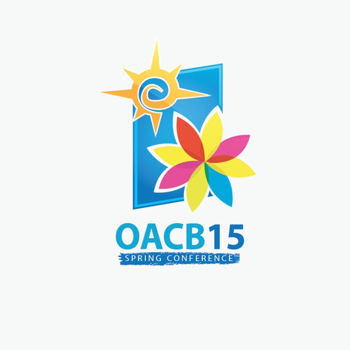 Create a Spring Conference logo for State Disability Association