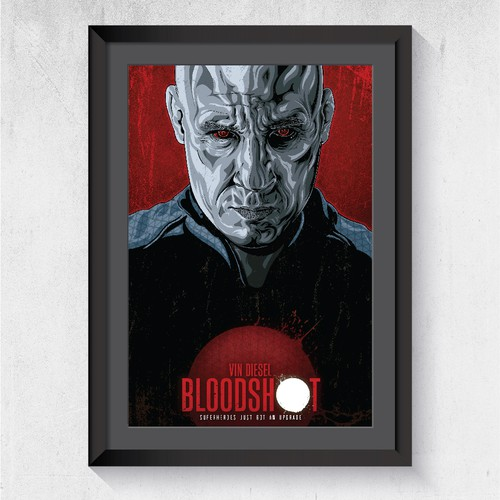 Alternative poster for a Bloodshot Movie