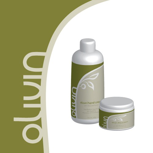 product label for Olivin