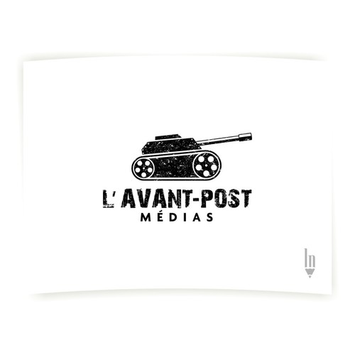 Stunning logo for video production company L'avant-post médias