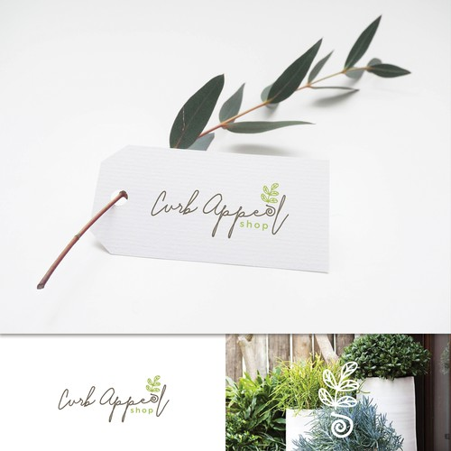 Curb Appeal shop logo design