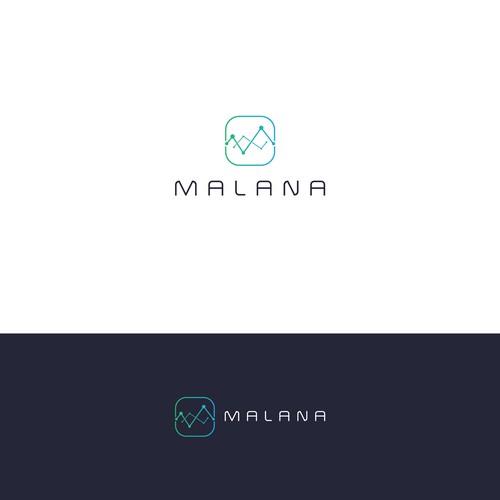 Modern logo or a Fintech company