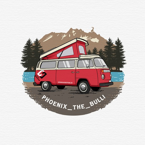 Logo Design for VW Bus T2