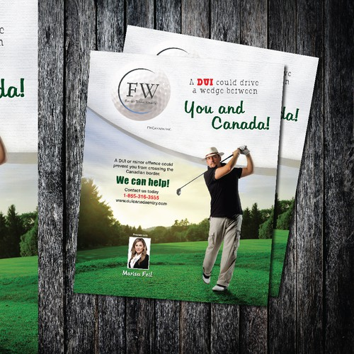 New postcard or flyer wanted for FWCanada Inc.