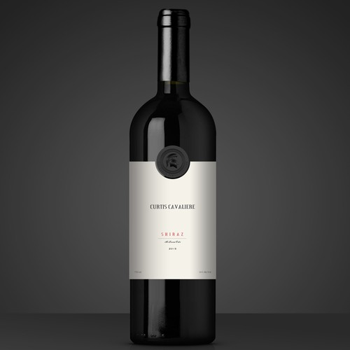 Creative Wine Label Design for 'Curtis'