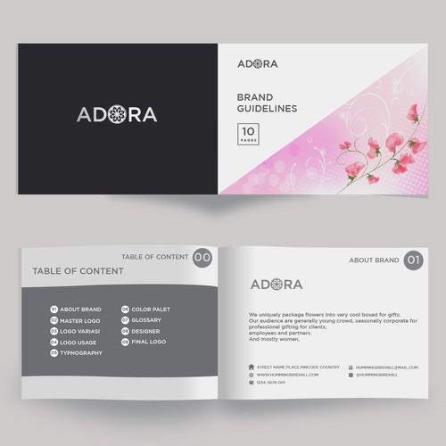 adora brand guide
