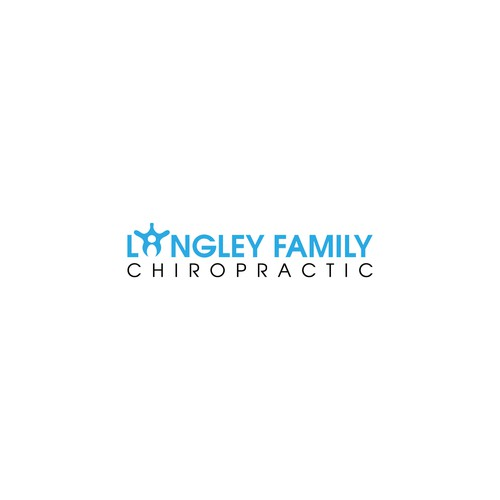 Langley Family Chiropractic logo design