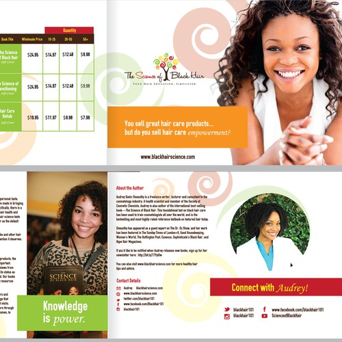 Design Engaging Brochure for Beauty Company
