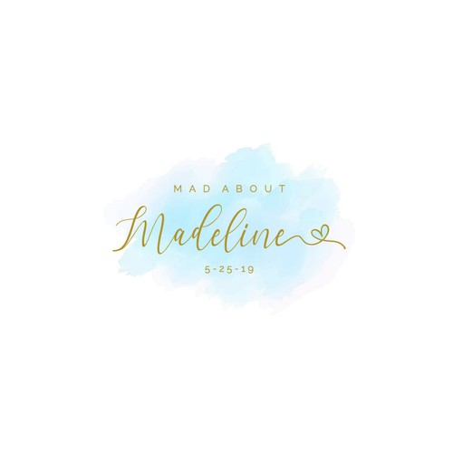 Party logo to celebrate Madeline (Mad About Madeline)!