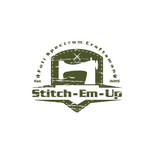Stitch-Em-Up Logo Design