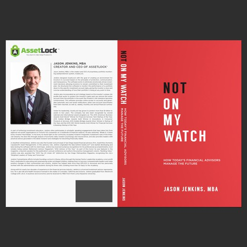 Book cover design for Jason Jenkins, MBA