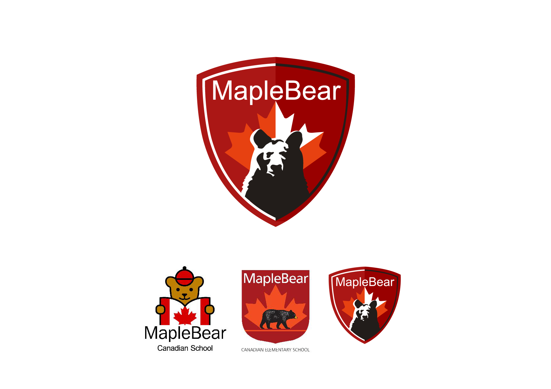New Logo for Maple Bear's Middle/High School Levels (Global Franchise)