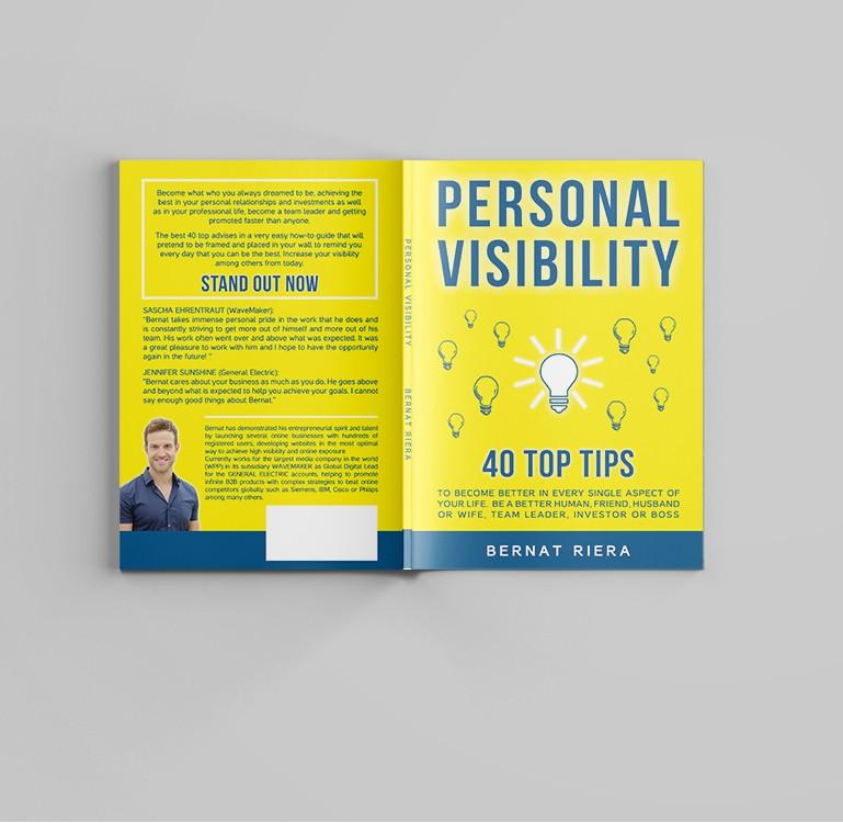 Self Development Book Cover: Personal Visibility