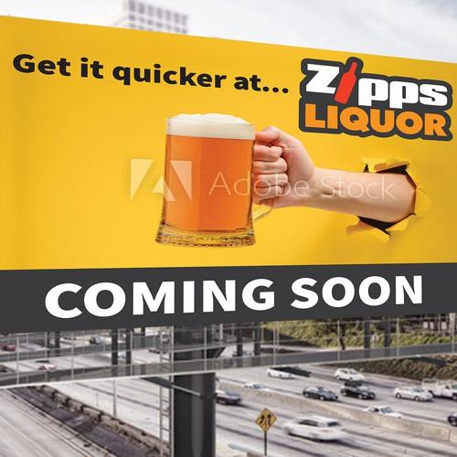 Zipps Liquor Banner