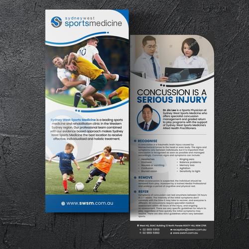 Sydney West Sports Medicine (Flyer Design)