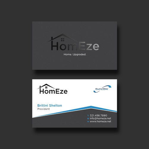 HomEze Business Card