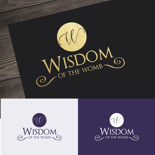 Feminine Logo with potential for future design support