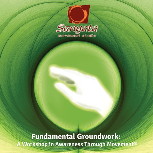 Zen-like design for audiobook/CD cover