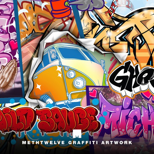 METHTWELVE GRAFFITI ARTWORK