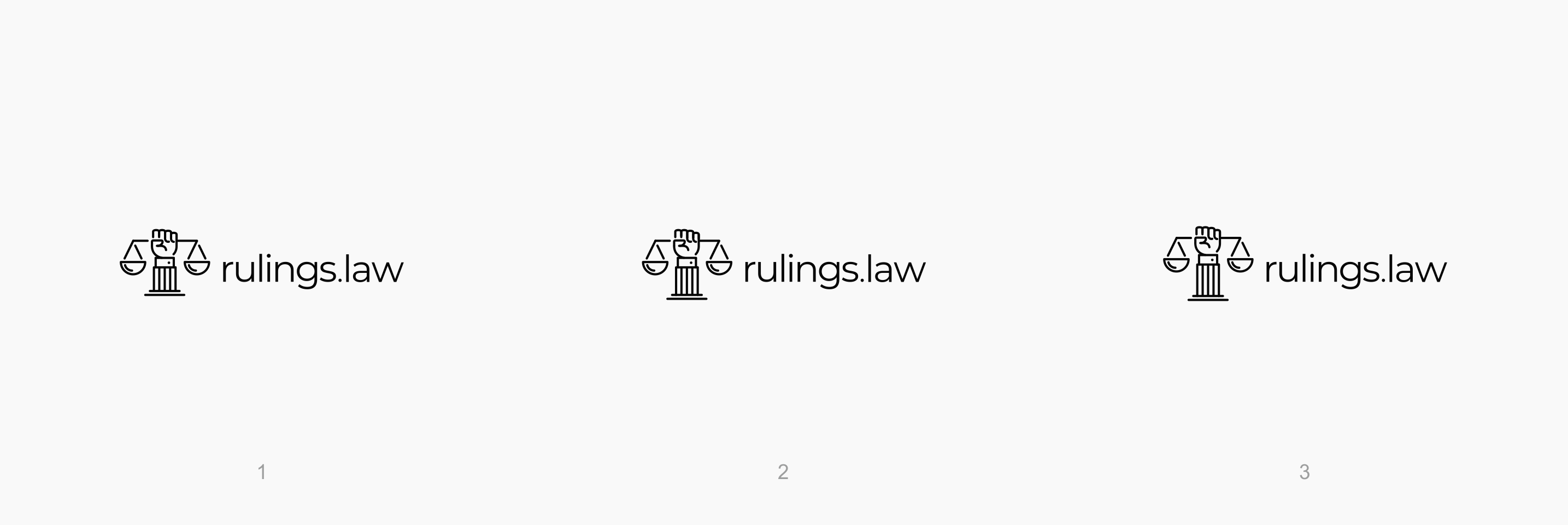 Legal tech startup needs logo
