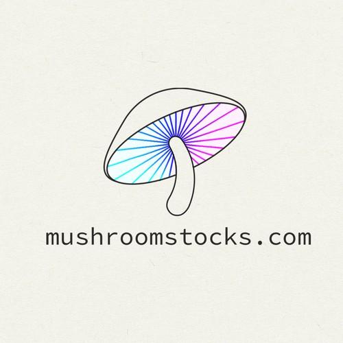 logo for mushroomstock.com
