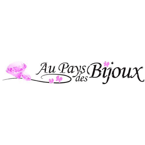 """Logo pour le site """"Au Pays des Bijoux"""""""