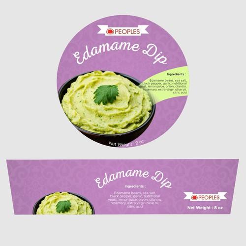 Edamame Hummus package