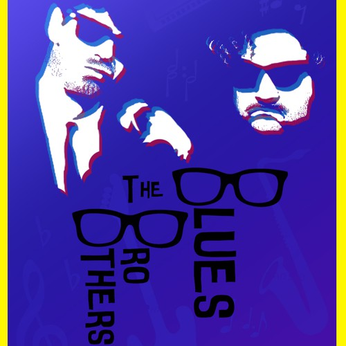 The Blues Brothers - 80s poster contest entry