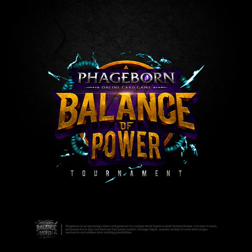 Balance of Power tournament (the word 'tournament' needs to be smaller)