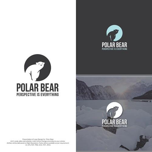 Polar Bear Logo Concept