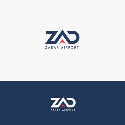 Logo concept for Zadar Airport