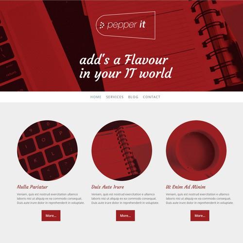 Company Web Page