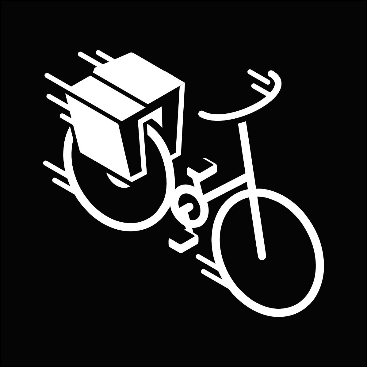 Bike box sticker