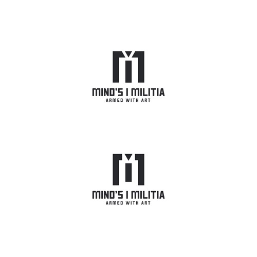 Logo for music art company