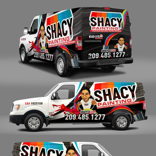 SHACY PAINTING