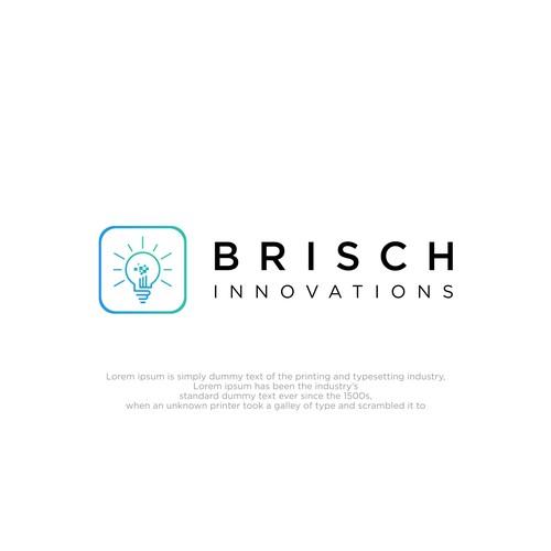 logo design for the Brisch Innovation company