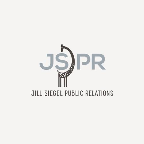 Striking logo design for literary publicist