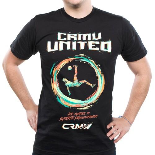 CRMV united t-shirt design