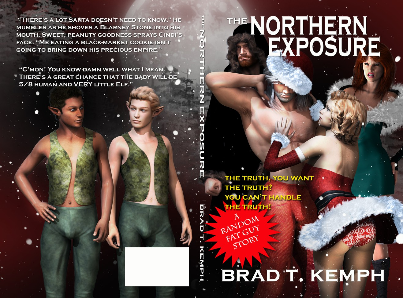 Create the next book or magazine cover for Brad Kemph