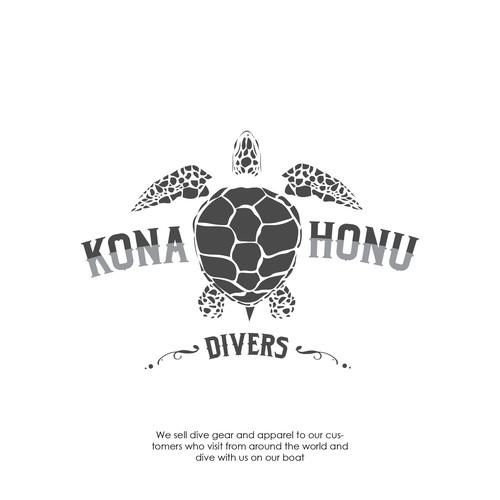T-Shirt Design for Kona Joni Divers